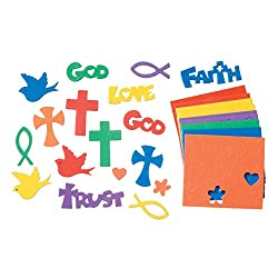 Religious Themed Darice Foamies Stickers
