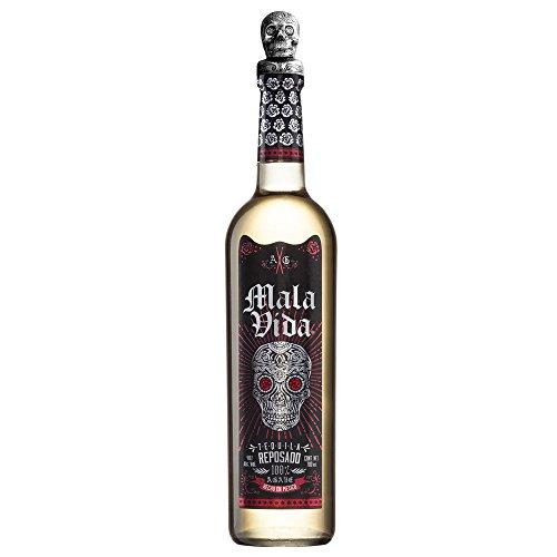 Tequila Reposado MalaVida, 100% Agave, 6 Monate gereift
