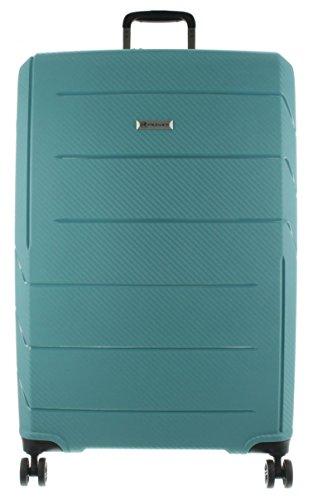 Franky Spinner Gr. L Koffer mit TSA-Zahlenschloss - Extra leichtes Polypropylen Aqua