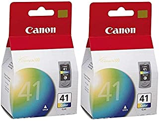 2 X Canon CL-41 Color FINE Ink Cartridge