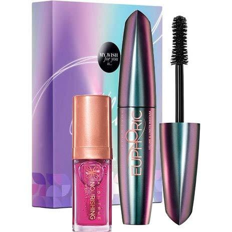 Avon Make-up GESCHENKSET Euphoric Mascara & Lippenöl
