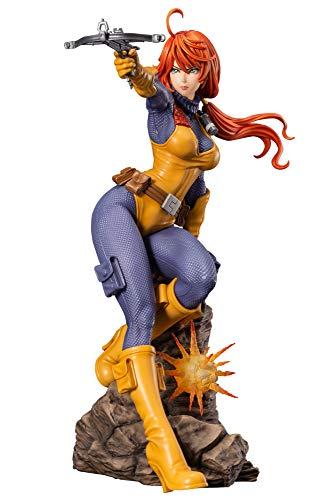 Kotobukiya G.I. Joe - Estátua Real American Hero Scarlett Bishoujo, multicolorida, tamanho único