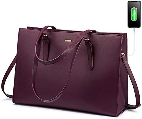 LOVEVOOK Laptop Bag for Women Computer Tote Bag Handbag Shoulder Bag Purse Business Work Briefcase product image