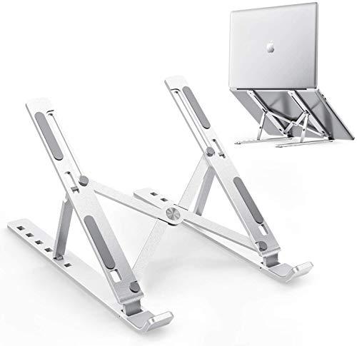 AF EXPO Foldable Height Adjustable Metal Frame Laptop Stand