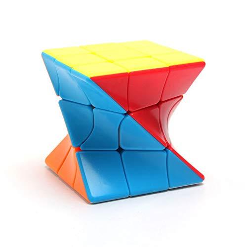 LZMIN Engranajes la Velocidad Cubo mágico Irregulares Cultivar la Capacidad de Pensamiento Dodecaedro Rompecabezas Cubo Mágico para Niños y AdultosA