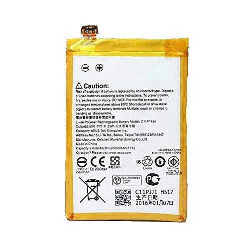 Ellenne Batteria Compatibile con ASUS ZENFONE 2 ZE551ML C11P1424 Alta capacità 3000MAH con Kit SMONTAGGIO Incluso by Store