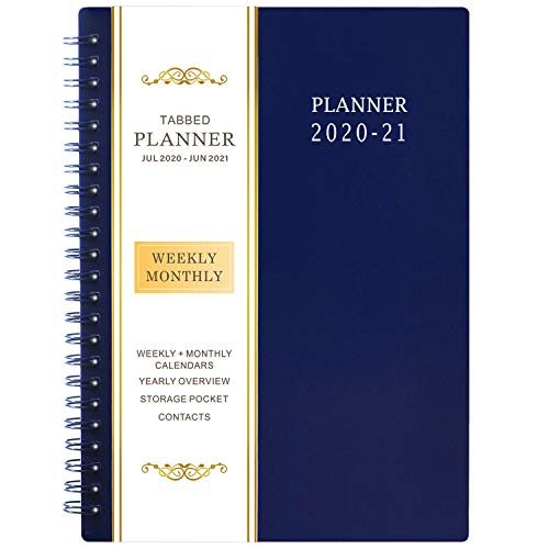 2020-2021 Planner - Weekly & Monthly Planner, from Jul 2020-Jun 2021, 6.25