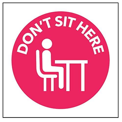 Adesivo non seduto qui.