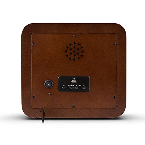 AUNA Belle Epoque 1901 - Radio nostálgica, Radio Retro, FM/Am, Banda de...