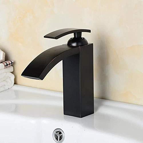 HONYGE LXGANG Faucet El Ahorro de Agua, de Protección Ambiental, levantada Individual Cascada Cuenca del Grifo Hermoso práctica Baño