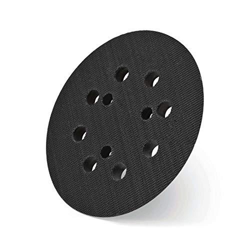 Hikoki tools 753811 HIKOKI 753811-Plato para Disco de Lija de Velcro 3 Agujeros 125 mm, 0 V, Gris