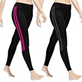 GoVIA Leggins para Damas Pantalones Deportivos Largos para Training Running Yoga...