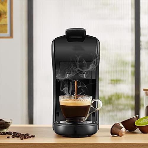 LDOR Cafetera Espresso 19 Bares Totalmente Automática 3 En 1 Cafetera De Cápsula Universal, para Cápsula Nespresso Cápsula Dolce Café En Polvo, Depósito De Agua De 0,6 L
