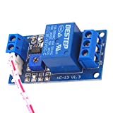 V1.3 Módulo de relé de Resistencia fotosensible 12V Módulo de relé de Sensor de Resistencia fotosensible Normalmente Cerrado (Azul) ESjasnyfall