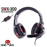 Casque Audio SWX-300 pour Nintendo Switch Freaks and Geeks - Stéréo - 40mm