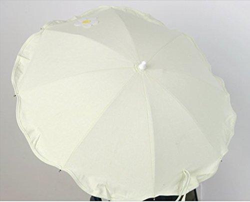 Sombrilla para silla de paseo + flexo universal. Color Verde. Parasol