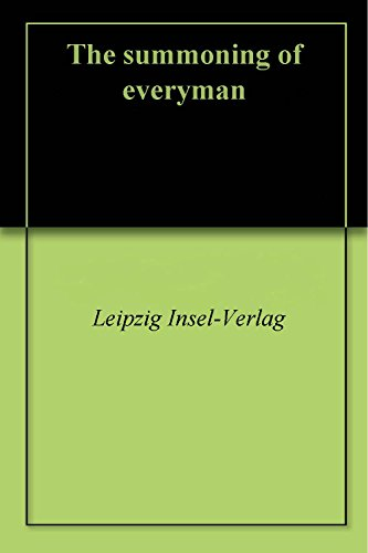 The summoning of everyman (English Edition)