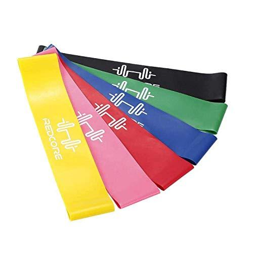 Bandas de Yoga Venda del Estiramiento de Fitness Ejercicio de Resistencia 5 Colores for la Goma Deportes Pilates ampliador de la Aptitud Entrenamiento de la Gimnasia Bandas elásticas Equipo DAGUAI