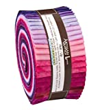 Lunn Studios PRISMA DYES PLUM PERFECT BATIKS Roll Up 2.5