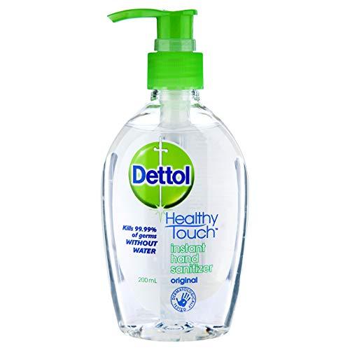 Dettol Healthy Touch Instant Liquid Hand Sanitizer Original, 200ml