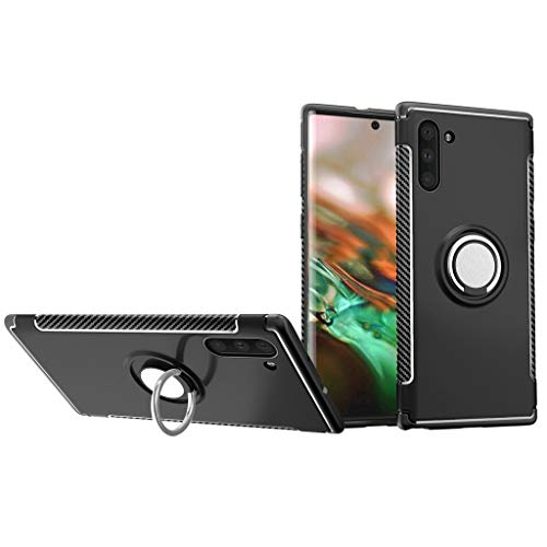 Finger HandyhüLle Sport Ring Schnalle Telefon Fall Klammer-Telefonkasten HüLle Handy SilikonhüLle Schutztaschen Sicher 6.3Inch-Handy TelefongrößE FüR Samsung Galaxy Note10