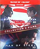 BATMAN VS SUPERMAN / MAN OF STEEL - Coffret 2 Films - Blu-Ray 3D - DC COMICS