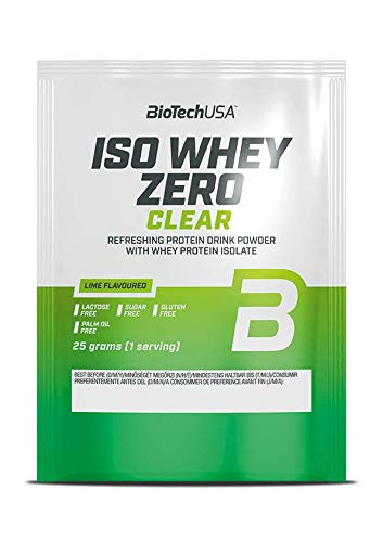BioTech USA ISO Whey Zero Clear, 25 g Portionsbeutel (Tropical Fruits)
