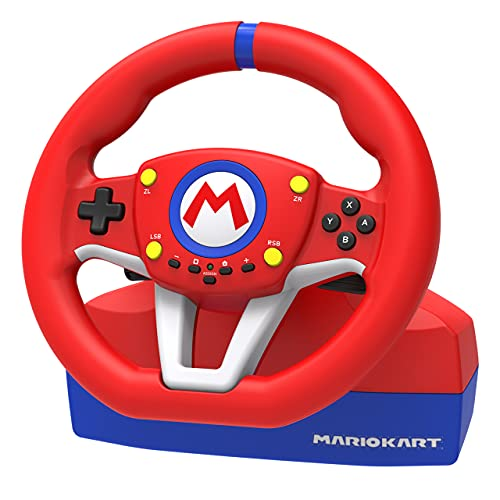 Hori Nintendo Switch Mario Kart Racing Wheel Pro Mini By - Officially Licensed By Nintendo