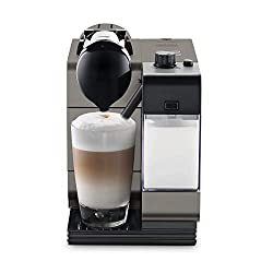 Nespresso by De'Longhi Lattissima Plus Original Espresso Machine with Milk Frother by De'Longhi, Titan