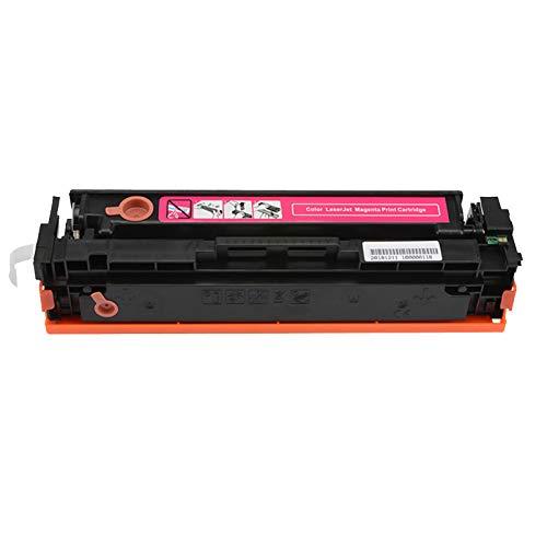 AXAX Reemplazo Compatible para HP 201A CF400A CF401A CF402A CF403A Cartucho de tóner para HP Color Laserjet Pro M252 M252N M252DW M277 M277N 277DW Impresora, con Chip Magenta