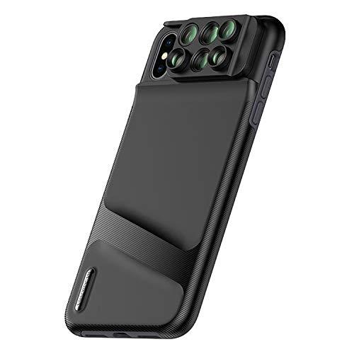 XUAILI Telefoon Camera Lens Kit Mobiele Telefoon Lens Wide Hoek Fisheye Macro Telefoon Telefoon Case, Concise Duurzame Handige Kosteneffectieve, voor IPhone XS