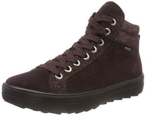 Legero Damen Mira Hohe Sneaker, Rot (Amarone 59), 39 EU (6 UK)