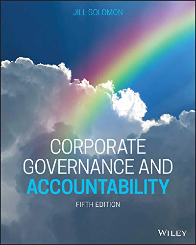 Compare Textbook Prices for Corporate Governance and Accountability 5 Edition ISBN 9781119561200 by Solomon, Jill