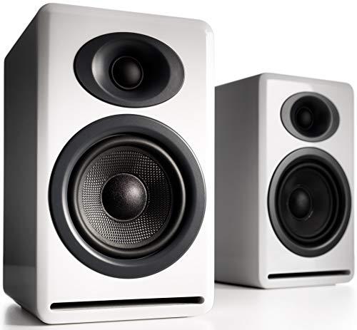 Audioengine P4 Premium Passive Regallautsprecher - Weiss