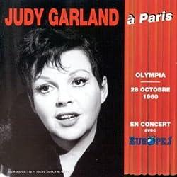 Judy Garland à Paris - Olympia - 28 Octobre 1960