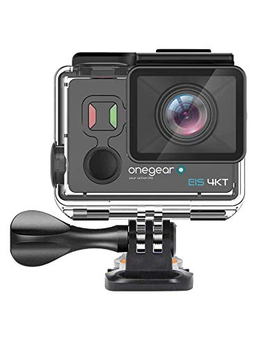 Onegearpro EIS 4K touch Action camera con schermo Touch screen Stabilizzatore digitale a 6 assi e comando a distanza 4K Ultra HD 14 MP Wi-Fi