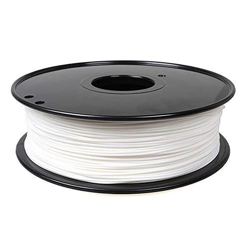 3D printing filament 1.75mm, PA NYLON filament 1kg, used for 3D printer-White