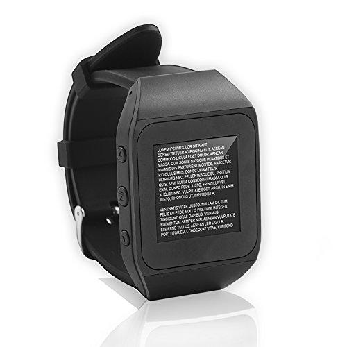 Reloj chuleta EscuelaZoo y con botón de emergencia para copiar en los exámenes en clase