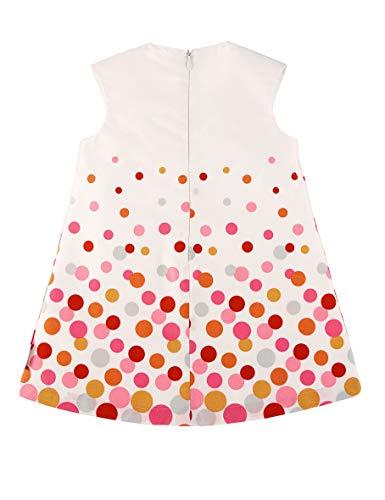 Sterntaler Dress Vestido, Beige (Ecru 908), 18-24 Meses (Talla del Fabricante: 92) para Bebés