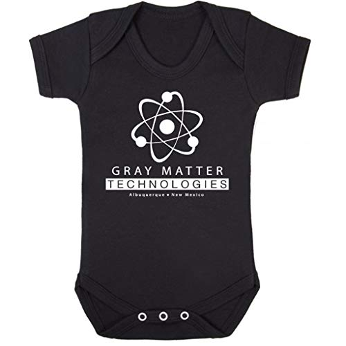 Cloud City 7 Gray Matter Technologies Logo Breaking Bad Baby Grow Short Sleeve