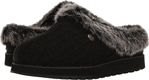 Skechers - Zapatillas de casa para mujer Bobs Keepsakes Ice Angel, negro (Negro), 38 EU