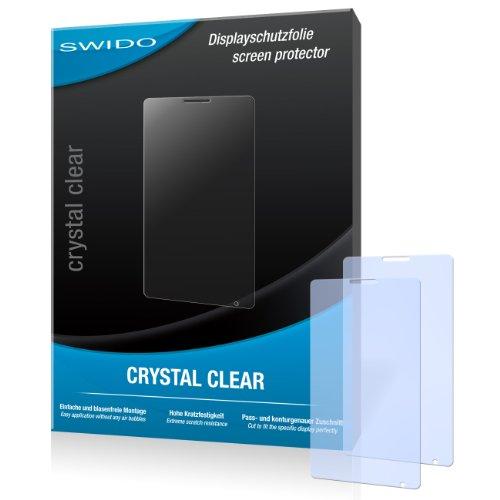 SWIDO Bildschirmschutz für Sony Xperia E1 [4 Stück] Kristall-Klar, Hoher Festigkeitgrad, Schutz vor Öl, Staub & Kratzer/Schutzfolie, Bildschirmschutzfolie, Panzerglas Folie