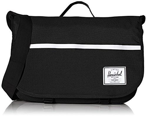Herschel Supply Company SS16 Casual Daypack, Umhängetasche, 10186-00001-OS, Schwarz, 10186-00001-OS
