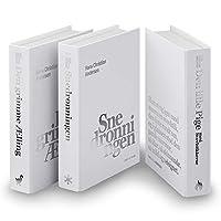 mon・o・tone 白×シルバーのダミーブック3個セット