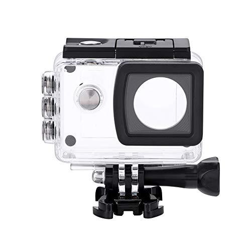EBTOOLS Funda Impermeable de Carcasa Impermeable para cámara Transparente Carcasa Protectora Impermeable para SJ5000 / SJ5000 WiFi / SJ5000 Plus