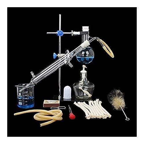 Sucastle distilleerder, voor distilleerderij, etherische olie, 10 sets (100 ml)