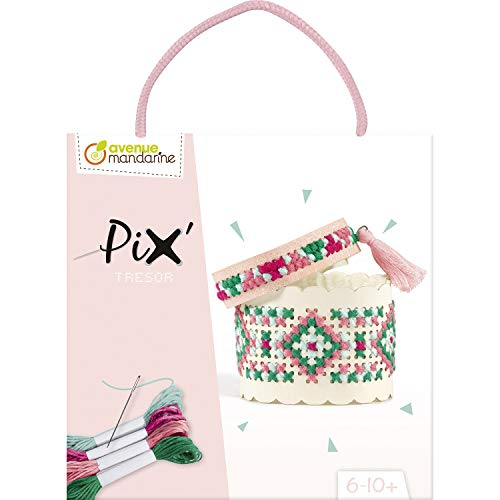 Avenue Mandarine- Pix Tesoro Rosa, Color Pastel (Clairefontaine KC128C)