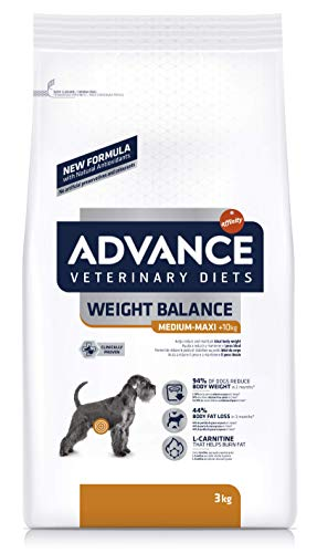 Advance Weight Balance Cibo per Cani , Pollo - 3 kg
