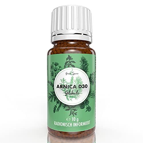 Arnica Globuli (Arnica D30) von Green Spirit radionisch/bioenergetisch informiert | Apothekenqualität