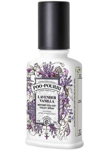 Poo-Pourri Go Toilet Spray Bottle, 4 oz, Lavender Vanilla